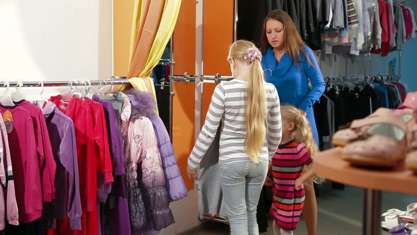 Shopping kids